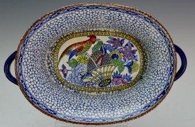 William Adams Porcelain Basin Chinese Export
