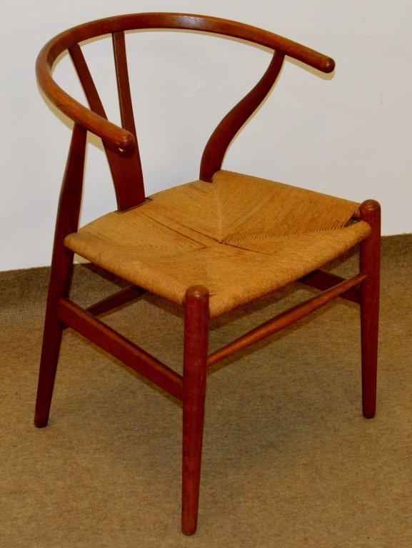 Carl Hansen Danish Modern Yoke Back Chair
