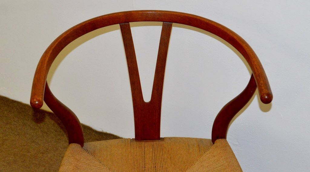 Carl Hansen Danish Modern Yoke Back Chair - 2