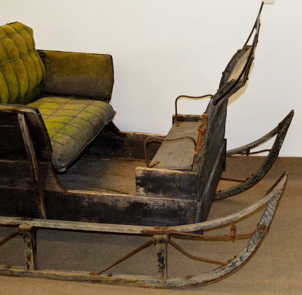 Antique Horse Drawn Sleigh - 10