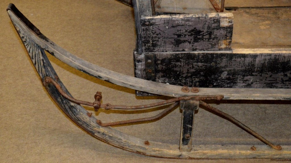 Antique Horse Drawn Sleigh - 3