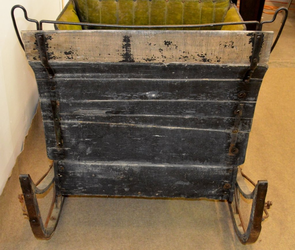 Antique Horse Drawn Sleigh - 4