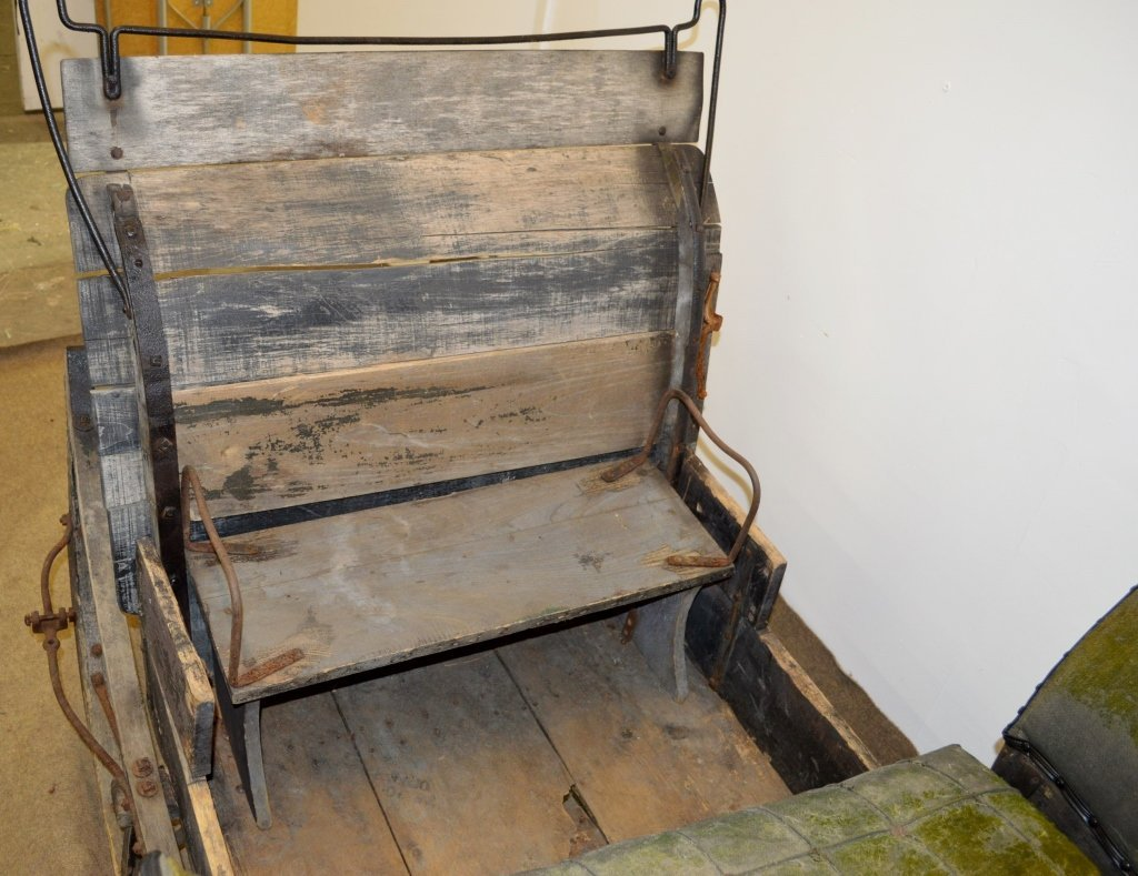 Antique Horse Drawn Sleigh - 5
