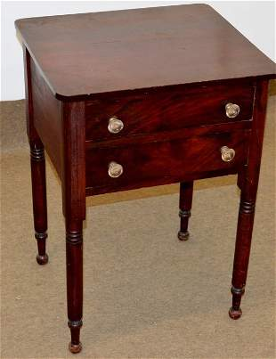 Antique Work or Sewing Tabls