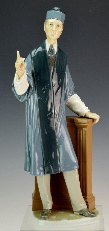 Lladro Barrister Figurine #4908