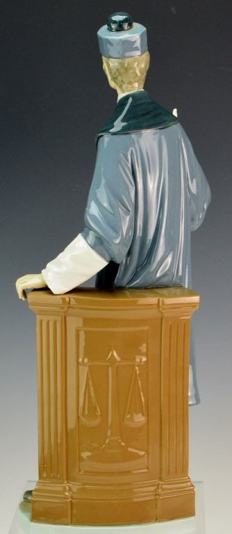 Lladro Barrister Figurine #4908 - 2