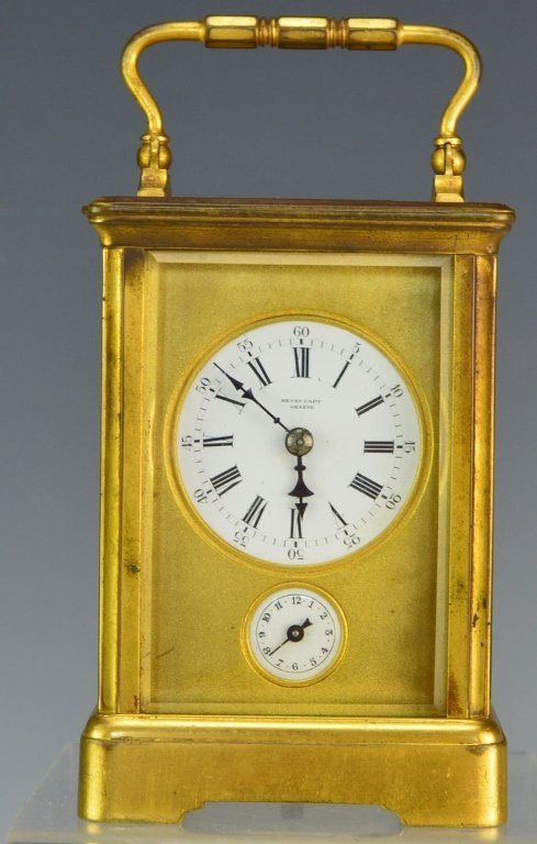Swiss Gorge Cased Carriage Clock