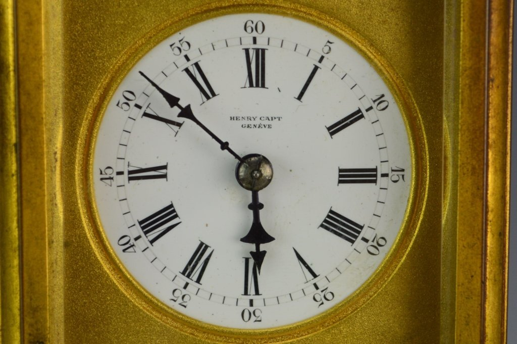 Swiss Gorge Cased Carriage Clock - 2