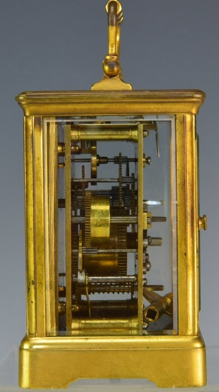 Swiss Gorge Cased Carriage Clock - 3