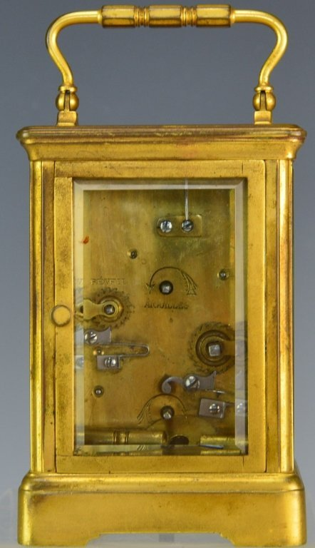Swiss Gorge Cased Carriage Clock - 4