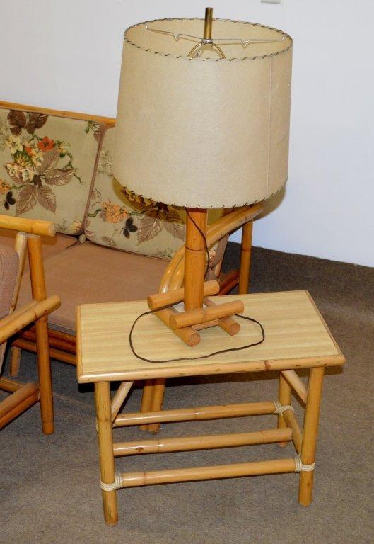 Fricks Reed Style Rattan Sofa Set - 4