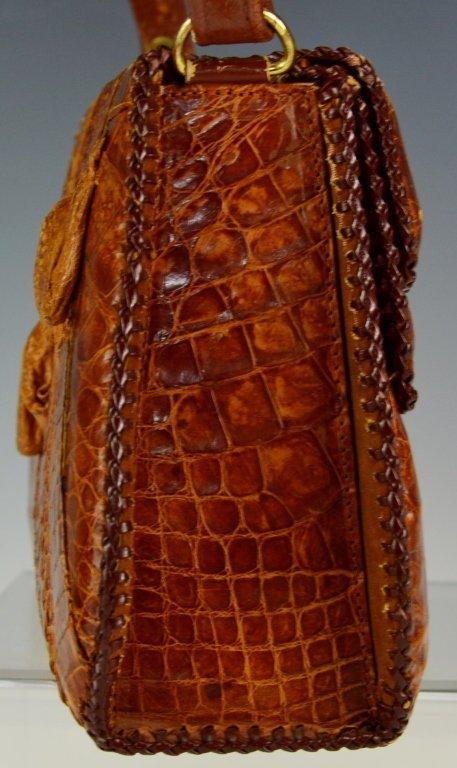 Eduardo Alligator Handbag - 2