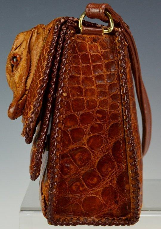 Eduardo Alligator Handbag - 4
