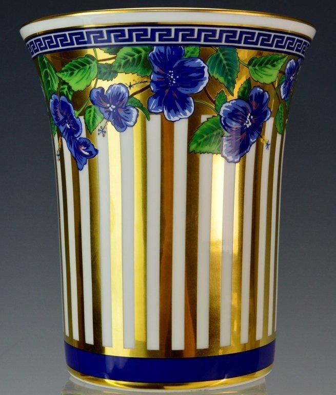 Versace Medusa Vase with Original Box - 2