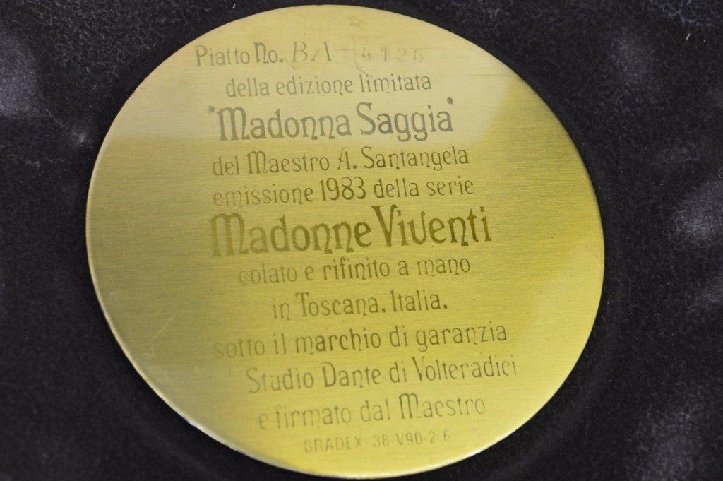 Madonna Plaque Grouping - 3