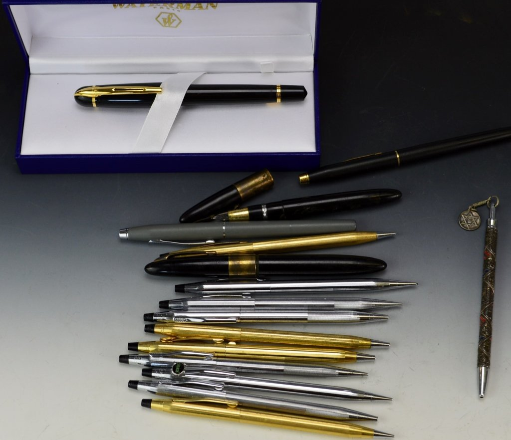 Fountain, Ballpoint Pen and Mechanical Pencils