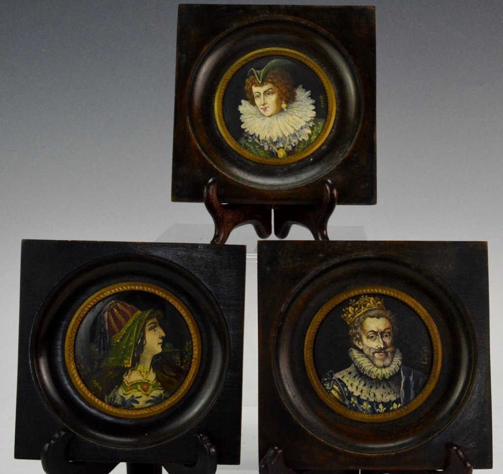 Miniature Portrait Grouping