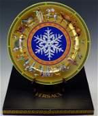 Rosenthal Versace Medusa Christmas Plate