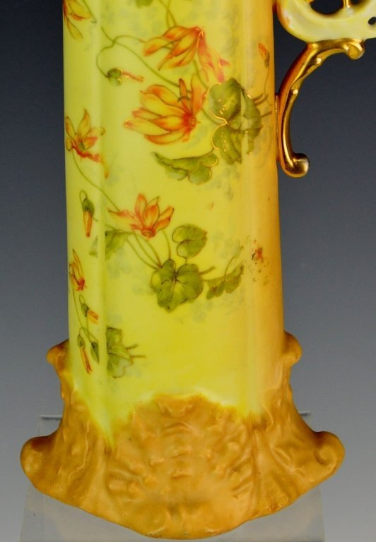 German Rudelstadt Porcelain Ewer - 3