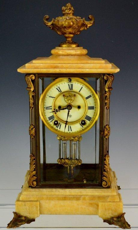 "Ansonia ""Cosmo"" Mantle Clock"