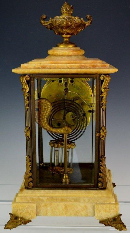 "Ansonia ""Cosmo"" Mantle Clock - 6"