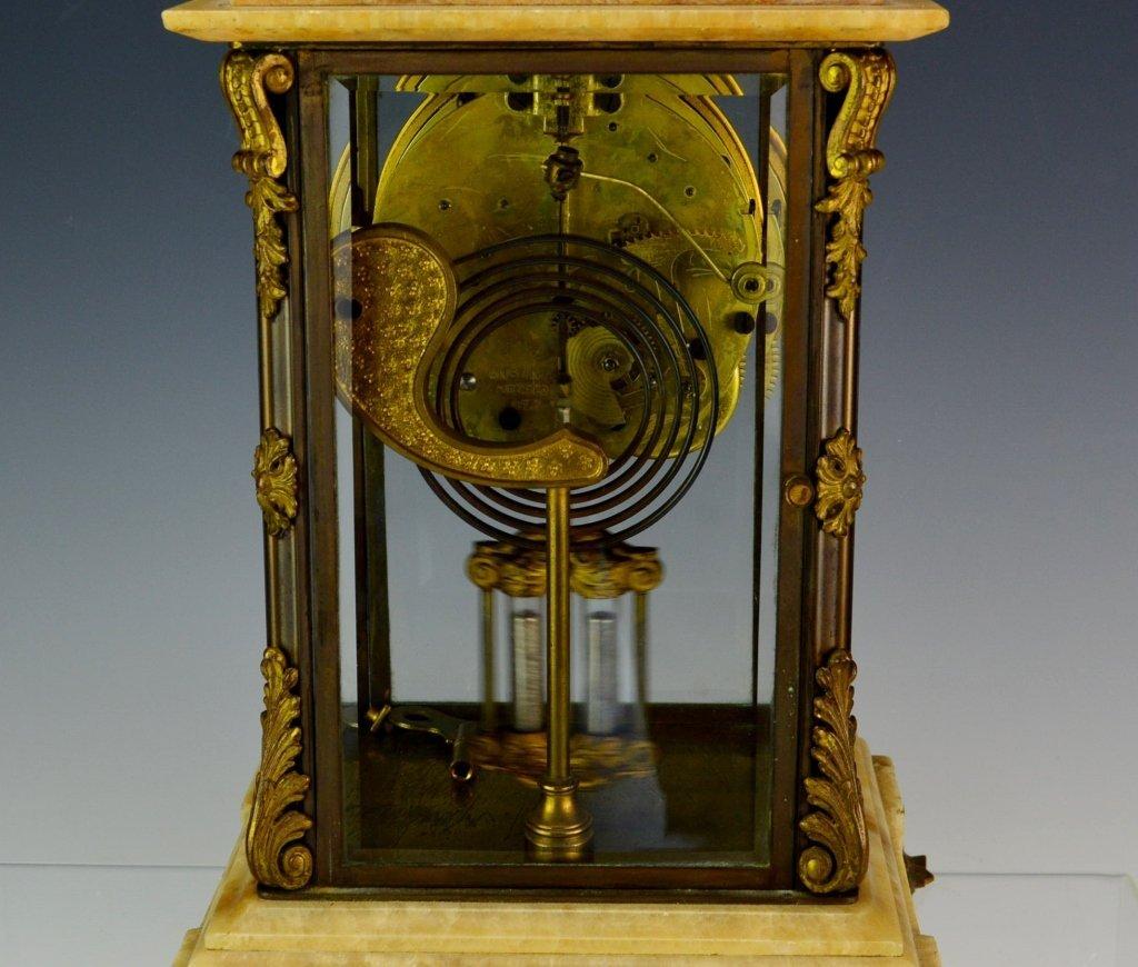 "Ansonia ""Cosmo"" Mantle Clock - 7"