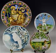 Rosenthal Porcelain Charger Grouping