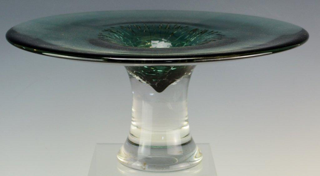 Taylor Backes Art Glass Pedestal