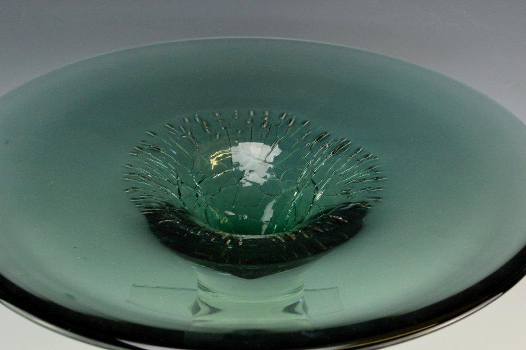 Taylor Backes Art Glass Pedestal - 2