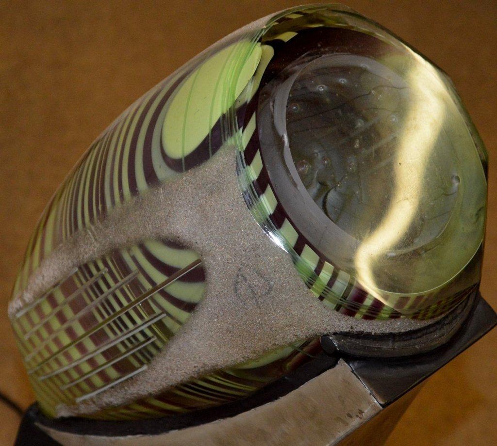 """Ben Sharp Art Glass """"Futurescopic"""" - 4"""