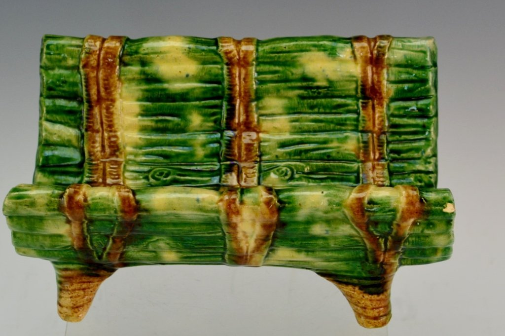 Majolica Asparagus Cradle