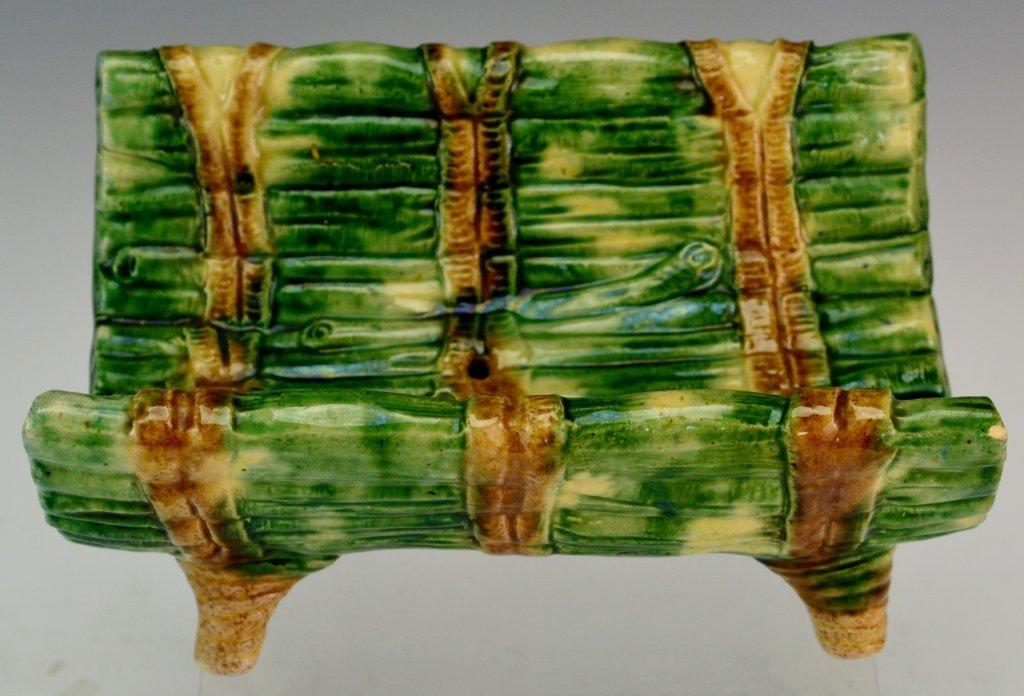Majolica Asparagus Cradle - 2