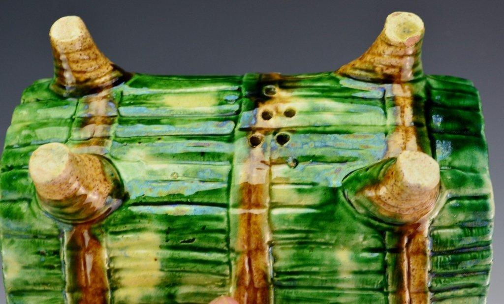 Majolica Asparagus Cradle - 3