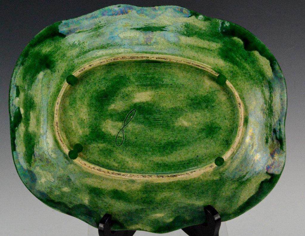 Majolica Asparagus Platter - 3