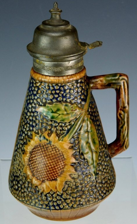 Majolica Pitcher - 3