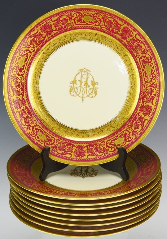Rosenthal China Dinner Plate Grouping