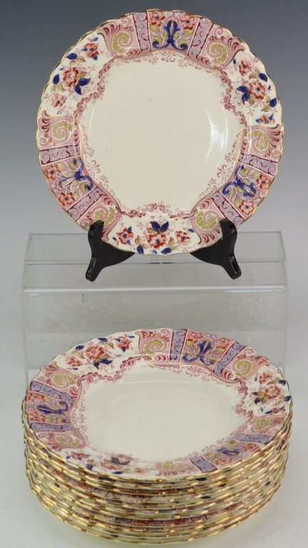 Burgess and Leigh Porcelain Grouping
