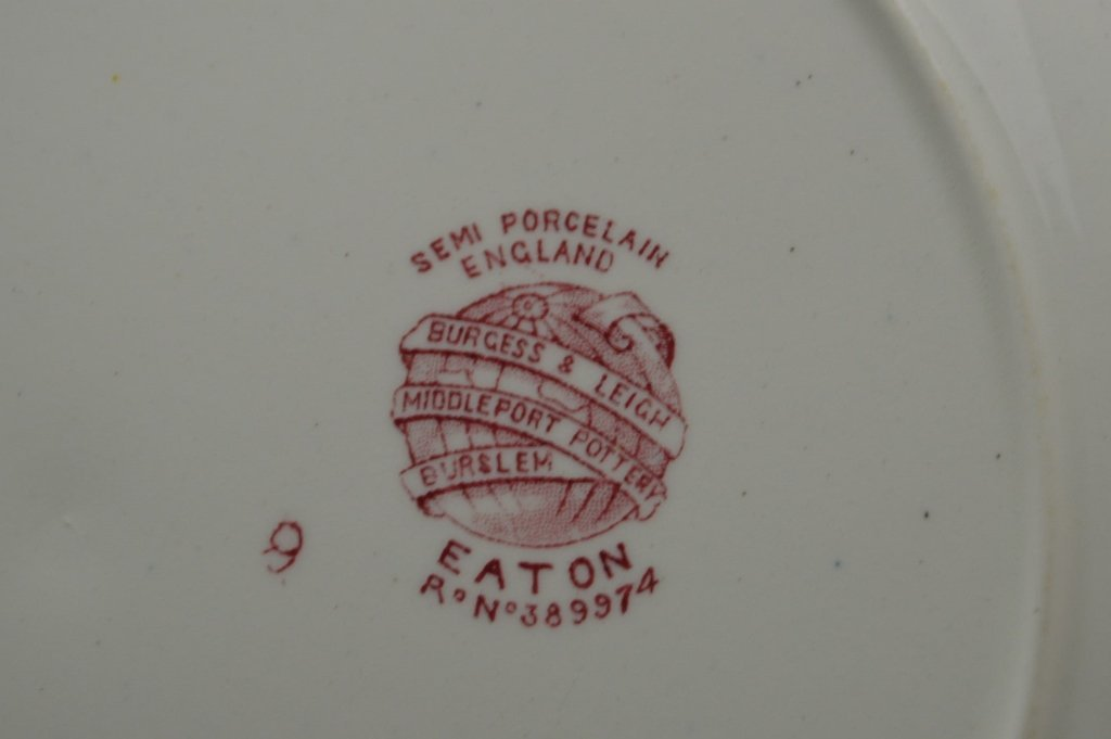 Burgess and Leigh Porcelain Grouping - 4