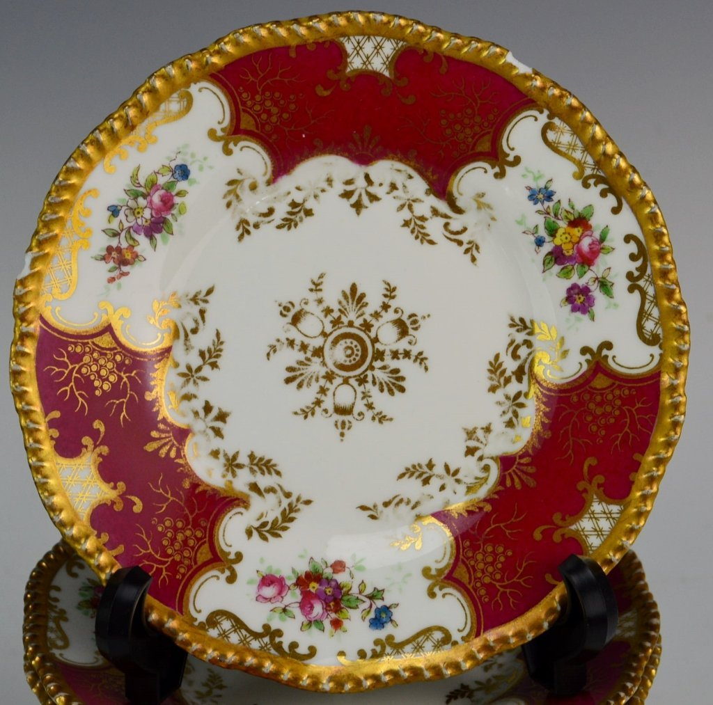 French Limoges Plate Grouping - 3