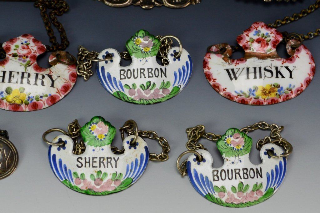Decanter Tag or Label Grouping - 2