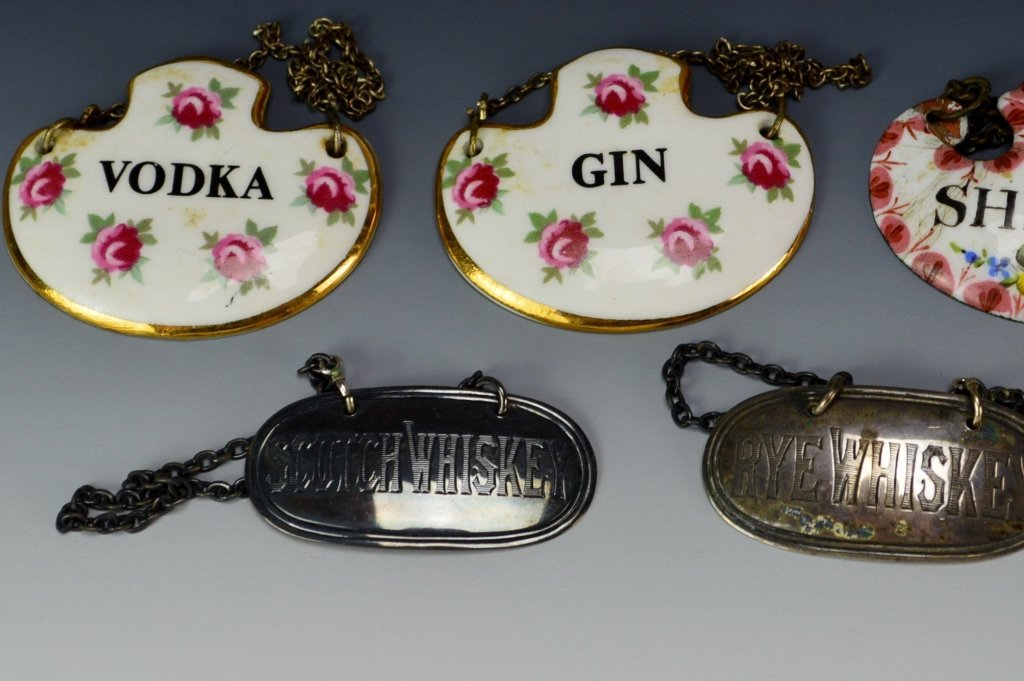 Decanter Tag or Label Grouping - 3