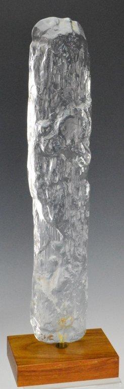 Bengt Edenfalk Crystal Sculpture