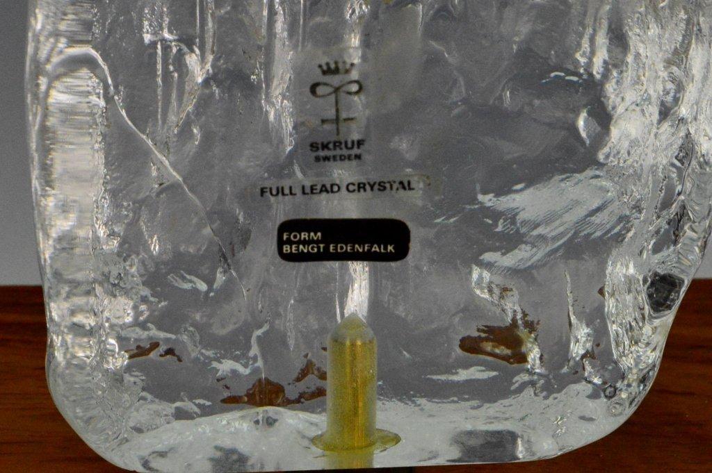 Bengt Edenfalk Crystal Sculpture - 4