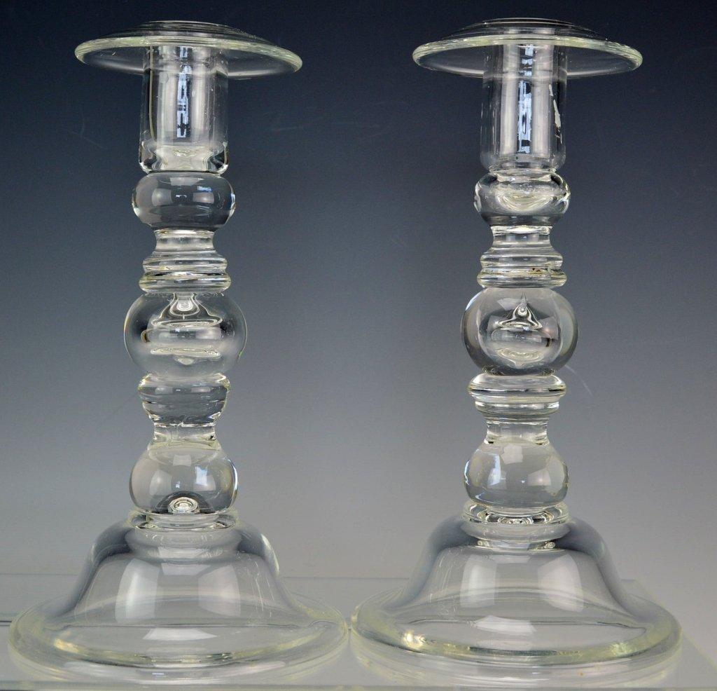 Art Glass Candlesticks