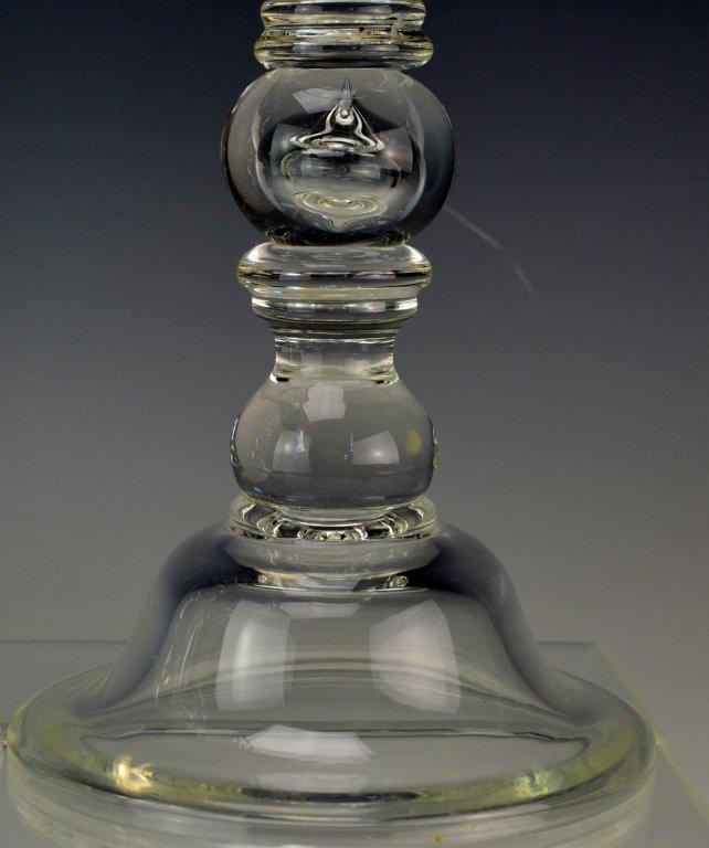 Art Glass Candlesticks - 2
