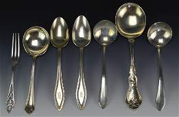Sterling Silver Spoon Grouping