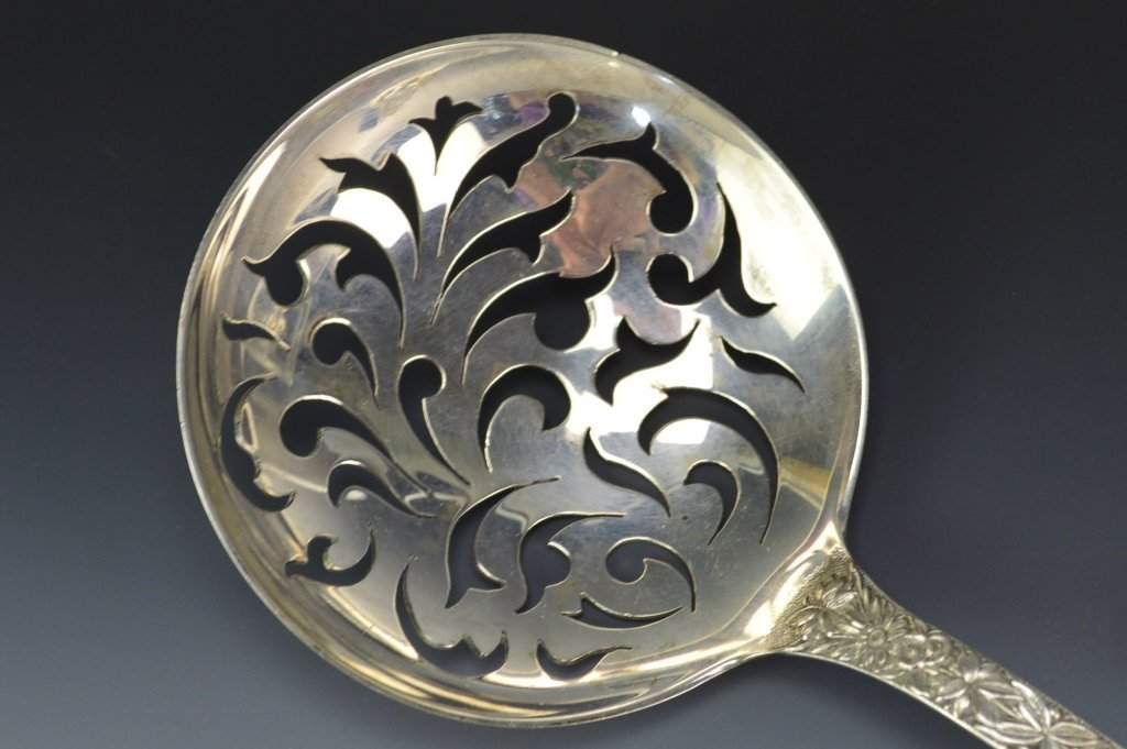 S. Kirk & Sons Sterling Repousse Serving Spoon - 2