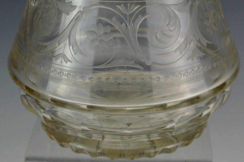 Victorian Silver Mounted Claret Jug - 3