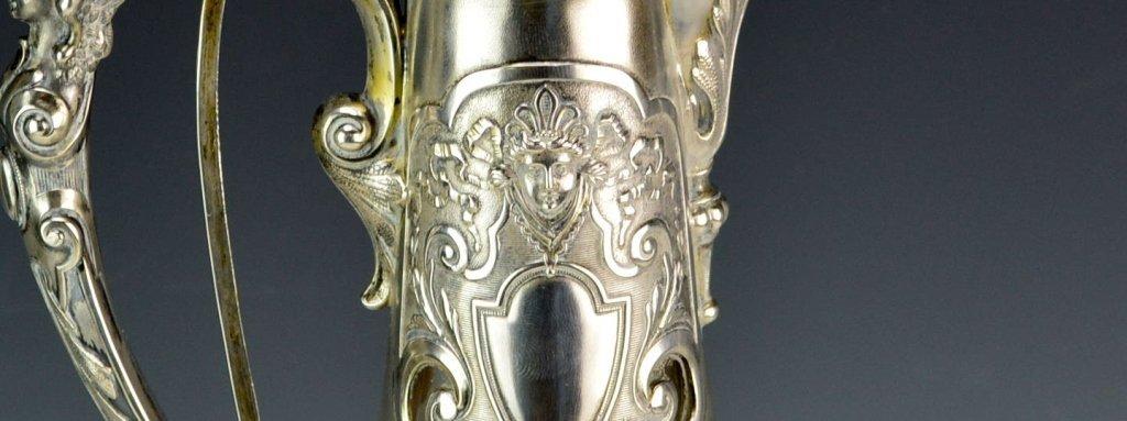 Victorian Silver Mounted Claret Jug - 5