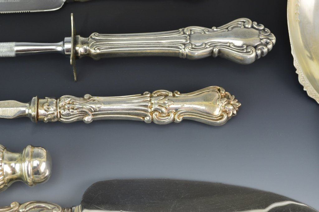 Sterling Silver Serving Piece Grouping - 4